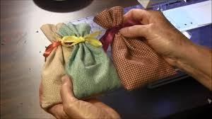 how to make a sachet bag you