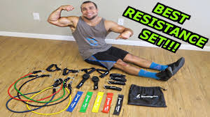 best resistance bands loops ankle