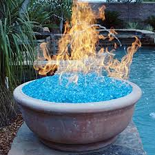 fire glass no smoke odor or ashes and