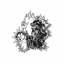 Electric Border Wizard Decal