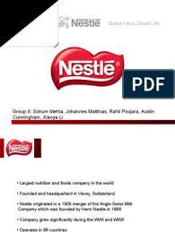 Nestle.ppt | Nestlé | Economies