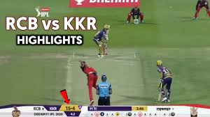 IPL 2020 KKR vs RCB Match Highlights ...