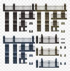 Graveyard Fence Tile Rpg Maker Mv Cemetery Free Transparent Png Clipart Images Download