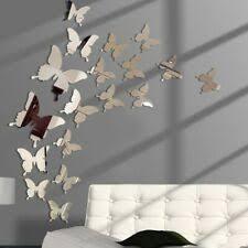 Walplus Huge Butterfly Vine And 3d Mirror Butterflies Wall Decal For Sale Online Ebay