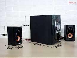 Loa karaoke bluetooth Soundmax A-2120 - META.vn