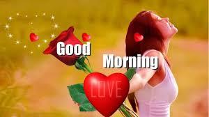 good morning video for love status