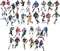 Amazon Com Sports Fan Wall Decals Nfl Wall Decals Decor Sports Outdoors