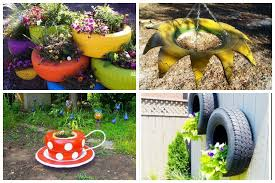 11 Fantastic Ways To Recycle Tires Into Your Garden Decor Garden Lovers Club