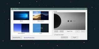 dynamic wallpaper theme for windows 10
