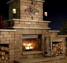 outdoor fireplace kits southwest