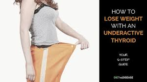 lose weight with an underactive thyroid