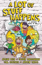 Amazon.com: A Lot of Stuff Happens eBook: Beck, Adrian, Daddo, Andrew,  Kostakis, Will, Phommavanh, Oliver: Kindle Store