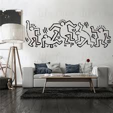 vinyl wall sticker keith haring