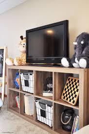 Playroom Progress Rustic Media Stand Cherished Bliss Kids Tv Room Bedroom Tv Stand Tv Stand Decor