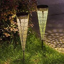 set of 2 take me solar pathway lights
