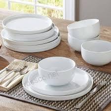 rim 12 piece dinnerware set