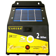 Zareba 2 Mile Solar Fence Charger Esp2m Z The Home Depot