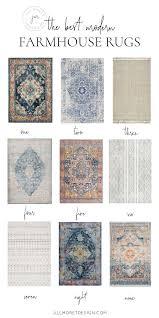 the best modern farmhouse rugs