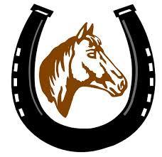 Diseño de bordado herradura / caballo tamaños | Etsy