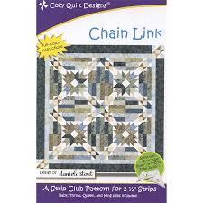 Chain Link Pattern Daniela Stout Of Cozy Quilt Designs Cozy Q