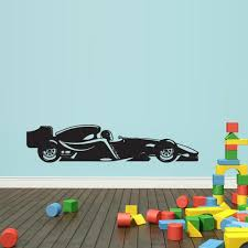 Wall Vinyl Decal Sticker Bedroom Formula 1 Sport Car Racing Gift Kids Stickersforlife