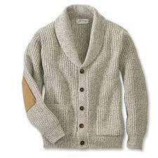 men s wool blend shawl cardigan sweater