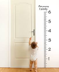 Amazon Com Giant Vinyl Growth Chart Kit Kids Diy Height Wall Ruler Large Measuring Tape Sticker Number Decal Sticker Black 73x23 Inches Home Kitchen