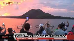 letusan meningkat berikut fakta gunung anak krakatau travel