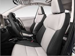 white leather interior toyota rav4
