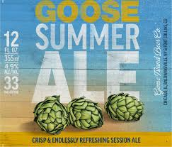 goose island summer ale hand family