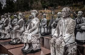 sculpture garden built by businessman