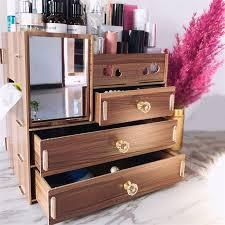 cosmetics organizer makeup storage box