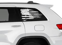 American Flag Decals For Back Window For Toyota 4runner Jeep Cherokee Wrangler Ebay