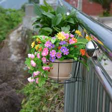 Balcony Railing Fence Outdoor Flower Pot Hanger Stand Buy Online At Best Prices In Pakistan Daraz Pk