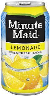 minute maid lemonade 12 oz coca