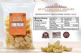9 best pork rinds for keto t that