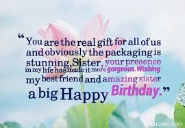 gorgeous friend birthday quotes nice wishes