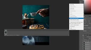 insram animated food photography