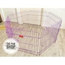 6 Panels Playpen Dog Fence Shopee Philippines