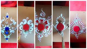 bengali bridal makeup style alpona