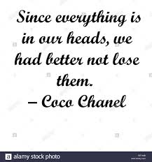 inspirational coco chanel quotes modern typography for artist t