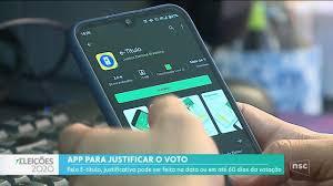 NSC Notícias - SC | Justiça Eleitoral fornece aplicativo para eleitor justificar  voto