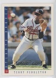 1993 Score - [Base] #36 - Terry Pendleton
