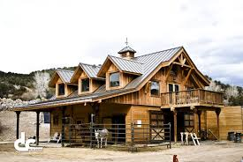 barn with living quarters builders from