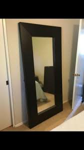 large ikea mongstad mirror in