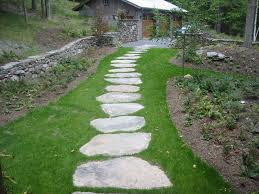 garden paving slabs decor