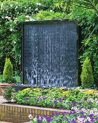 garden water walls wall water