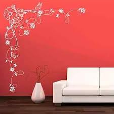 Details About Corner Flower Vine Hibiscus Wall Art Sticker Vinyl Transfer Decal Mural Wsd679 Flower Mural Mural Stencils Wall