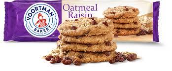 oatmeal raisin voortman bakery