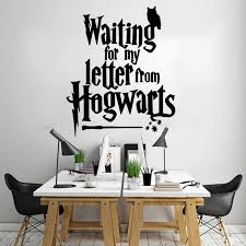 Modern Waiting For My Letter From Vinyl Wall Stickers Decor For Living Room Kids Room Wall Art Decal Wall Stickers Aliexpress